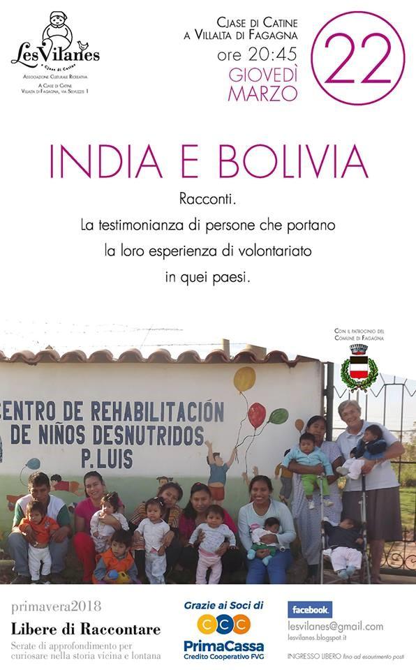 India e Bolivia