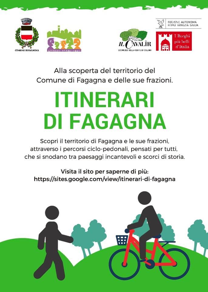Itinerari di Fagagna, Alla scoperta del territorio del Comune di Fagagna e delle sue frazioni.