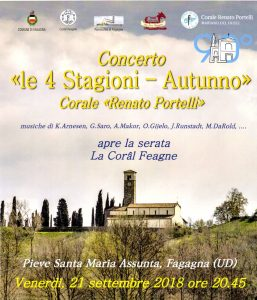 """Concerto """"Le 4 stagioni - Autunno"""""""