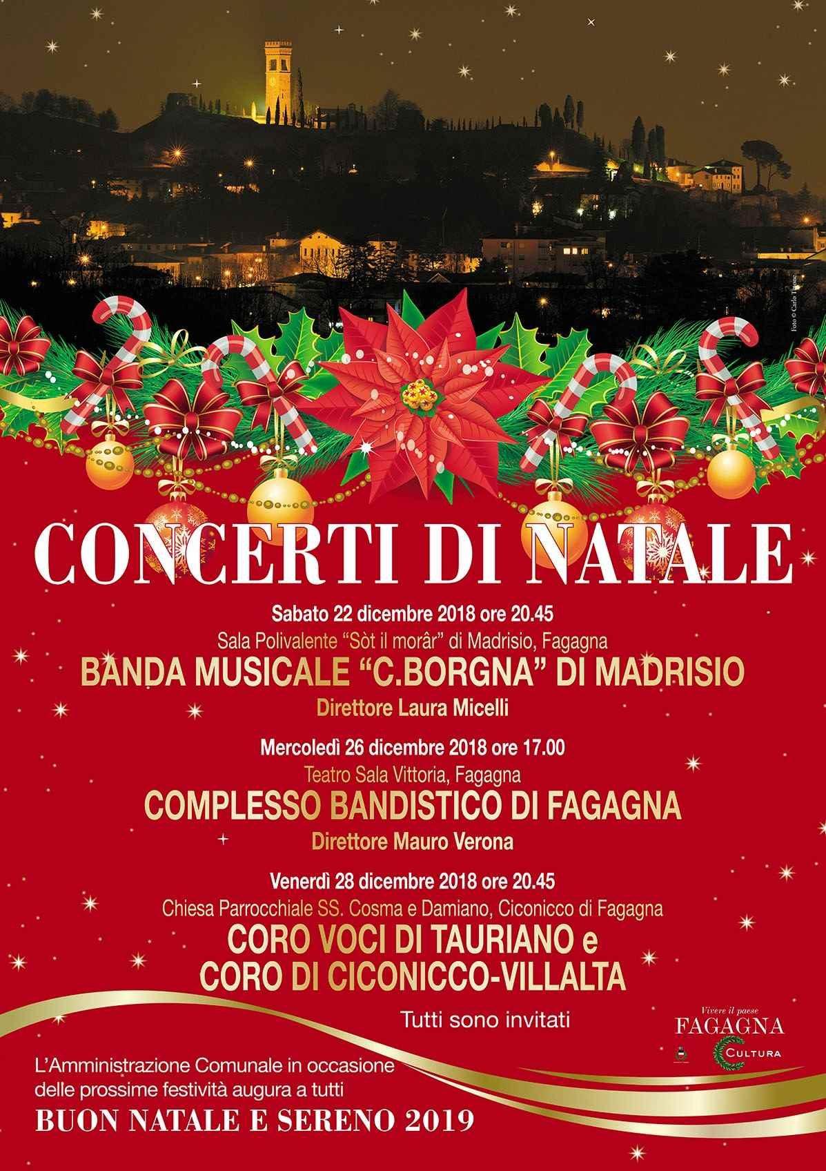 Concerto Di Natale.Concerti Di Natale Fagagna Online